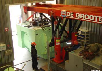 lift and go interne verhuizing van zware motor trilifter