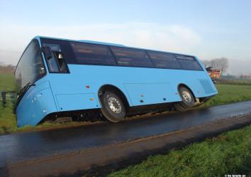 depannage gekantelde bus