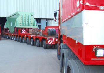 transport van zware objecten degroote