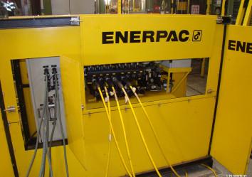 enerpac synchroon liftsysteem, hydrolisch liftsysteem, klimvijzels