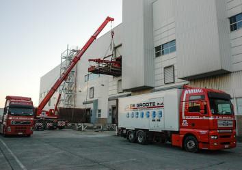 complete fabrieksverhuizing verhuizen van machines